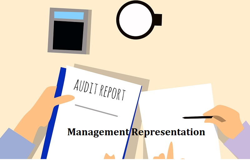 Representation for the purpose of Statutory audit to be collected from Management as per Company Act 2013