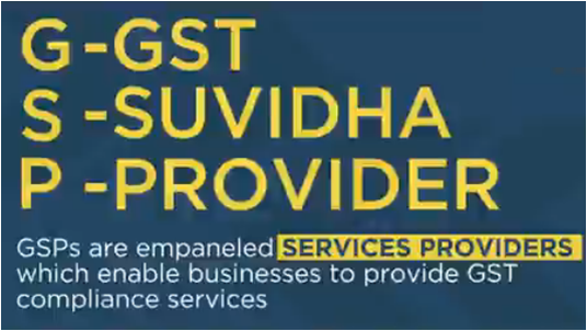 GSTN is in the process of empaneling a new batch of GSPs focused on specifically e-invoicing based compliances