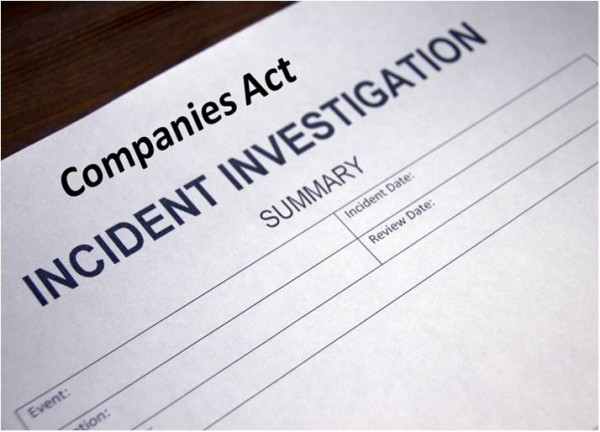 Investigation Under The Companies Act