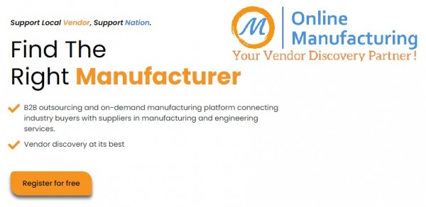 This business has developed a digital platform for vendor discovery to fulfill your manufacturing requirements
