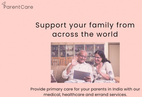This revolutionizing business model simplifies and lowers the cost of long-distance caregiving for NRIs to their loved ones in India