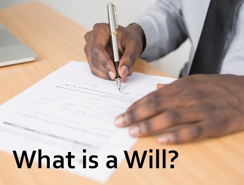 What is a Will?and Who can write a Will?