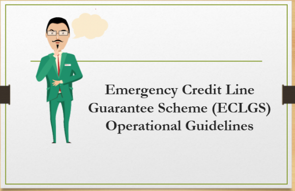 Emergency Credit Line Guarantee Scheme (ECLGS) Operational Guidelines